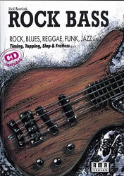 Rock Bass (+CD): Lehrbuch für E-Bass