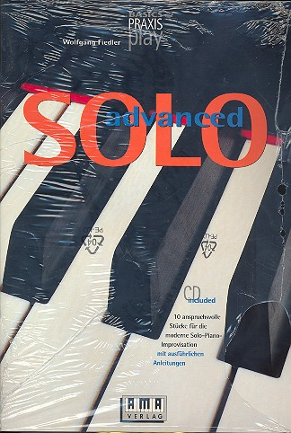 Advanced Solo (+CD): 10 anspruchsvolle Stücke für die moderne Solo-Piano
