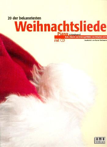 20 der bekanntesten Weihnachtslieder (+CD): ür Piano ( Keyboard) (mit Texten/Akkorden/