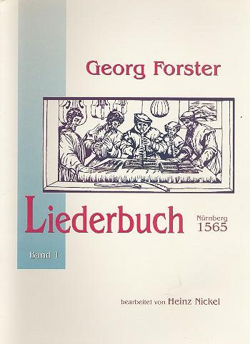 Forster, Georg - Liederbuch Nürnberg 1565 Band 1