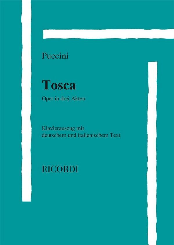 Tosca: Klavierauszug (dt/it)