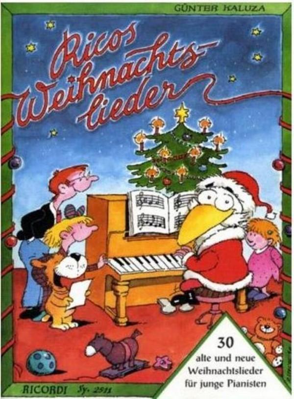Ricos Weihnachtslieder: für Klavier
