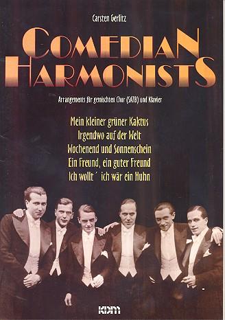 Comedian Harmonists: für gem Chor und Klavier