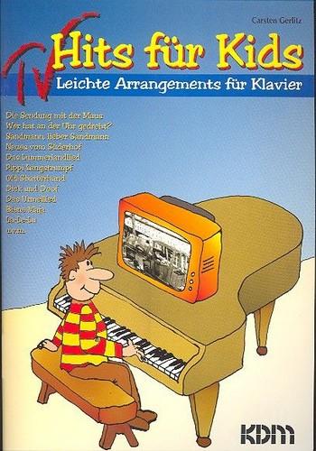 TV Hits für Kids Band 1: leichte Arrangements für Klavier