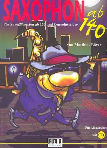 Böyer, Matthias - Saxophon ab 140 (+CD)
