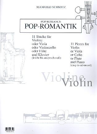Schmitz, Manfred - Pop-Romantik : für Melodieinstrument