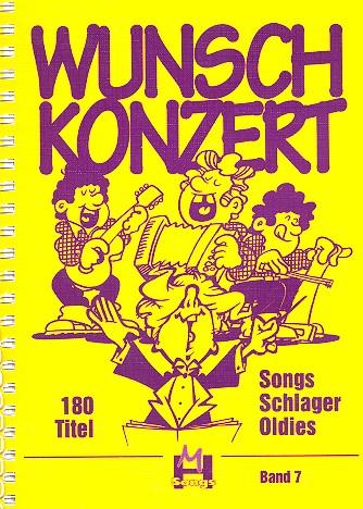 Wunschkonzert DIN A4: 180 Songs, Schlager, Oldies