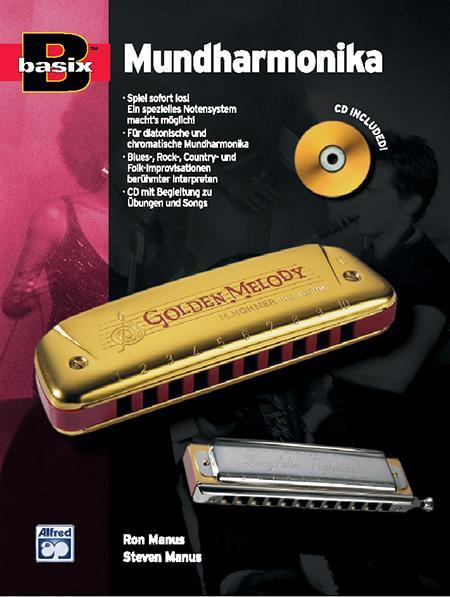Basix Mundharmonika (+CD): Schule für diatonische und