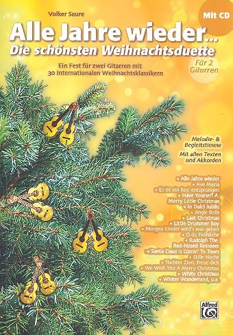 Alle Jahre wieder (+CD): für 2 Gitarren