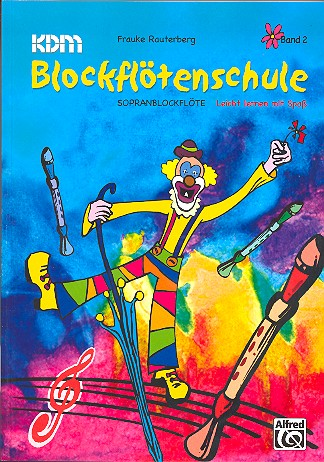 Blockflötenschule Band 2: Sopranblockflöte