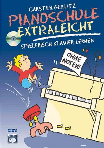 Pianoschule extra leicht (+CD): spielerisch Klavier lernen