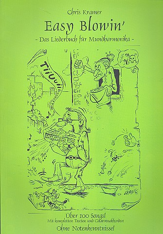 Müller, Günther - Easy Blowin' Band 1 (+CD) : Das Liederbuch
