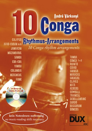 Varkonyi, André - 10 Conga Basis-Rhythmen (+CD)