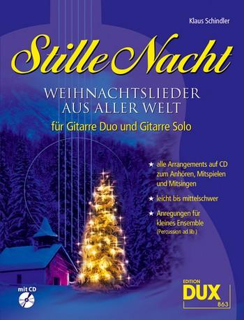 Stille Nacht (+CD): für 1 und 2 Gitarren Spielpartitur