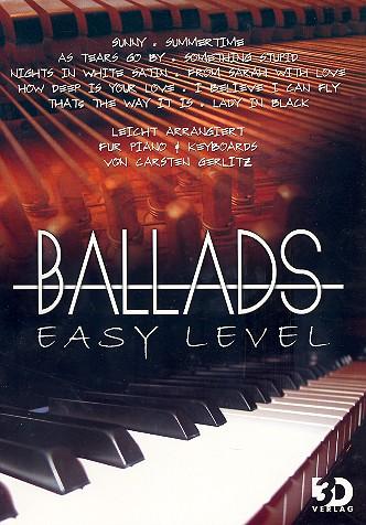 Ballads easy level: für Klavier (Keyboard)