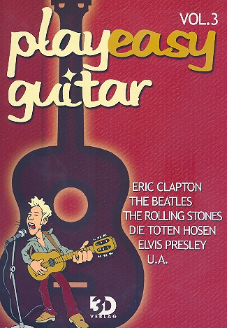 Play easy guitar vol.3 ohne Noten