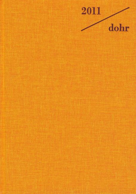 Almanach für die Musik 2011