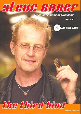 Blues Harmonica Playalongs vol.3 (+CD): deutsche Ausgabe
