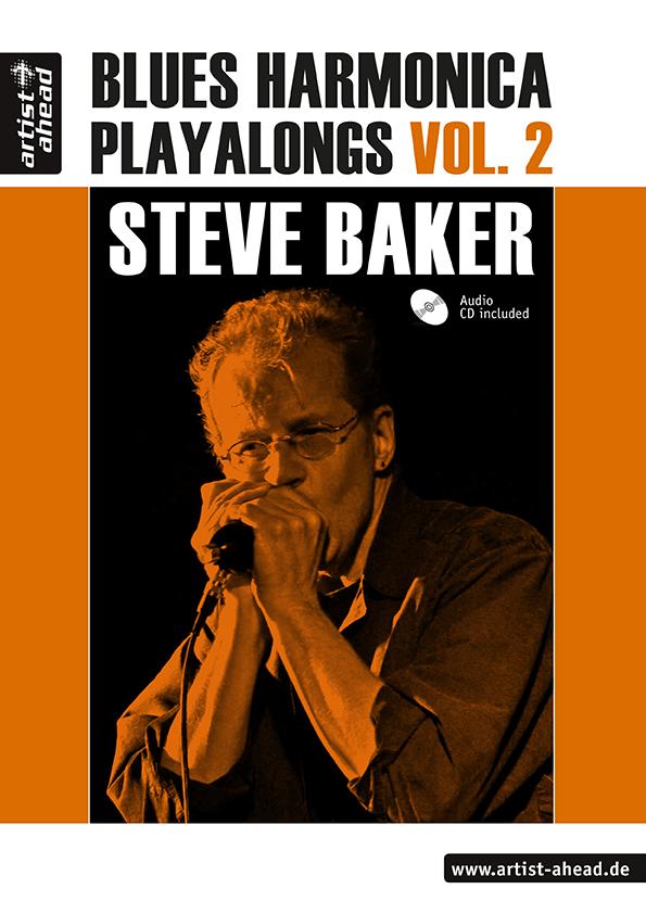 Blues Harmonica Playalongs Band 2 (+CD, dt)