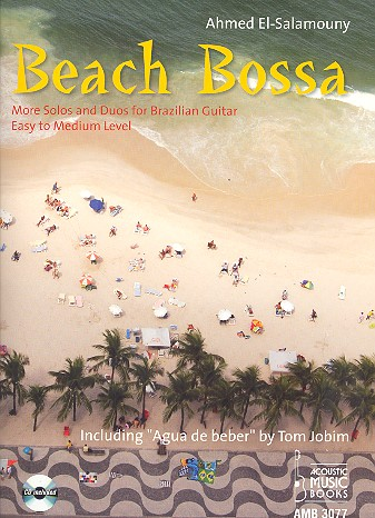 Beach Bossa (+CD): for 1-2 guitars score