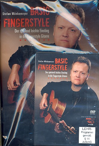 Basic Fingerstyle (+DVD): für Gitarre