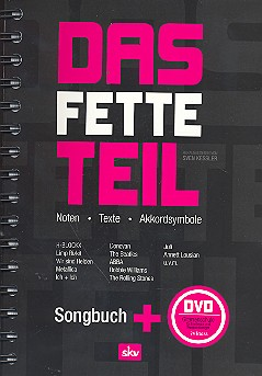 Das fette Teil (+DVD Gitarre lernen): Songbuch Gesang/Gitarre