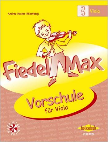 Fiedel-Max Viola Vorschule (+CD)