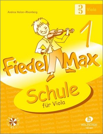 Fiedel-Max Viola Schule Band 1 (+CD)