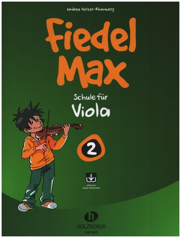 Fiedel-Max Viola Schule Band 2 (+CD)