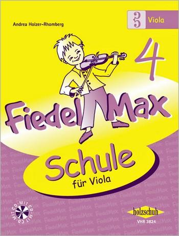 Fiedel-Max Viola Schule Band 4 (+CD)
