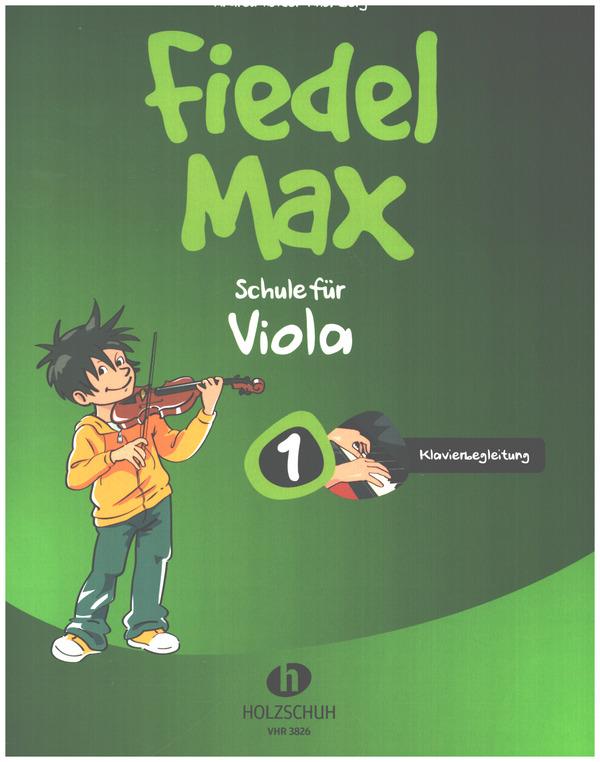 Fiedel-Max Viola Schule Band 1: Klavierbegleitung
