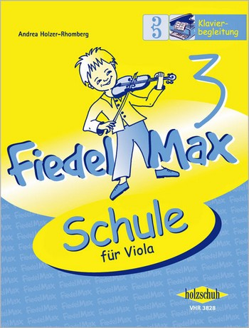 Fiedel-Max Viola Schule Band 3: Klavierbegleitung