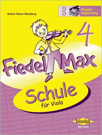 Fiedel-Max Viola Schule Band 4: Klavierbegleitung