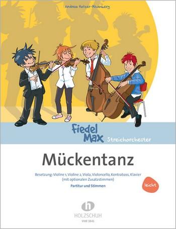 Holzer-Rhomberg, Andrea - Mückentanz : für Streichorchester