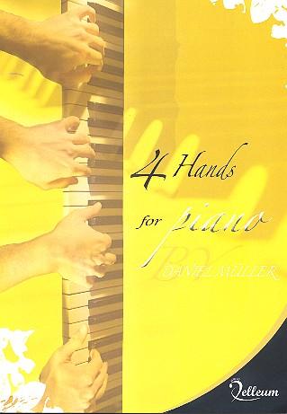4 Hands for Piano: für Klavier zu 4 Händen Spielpartitur