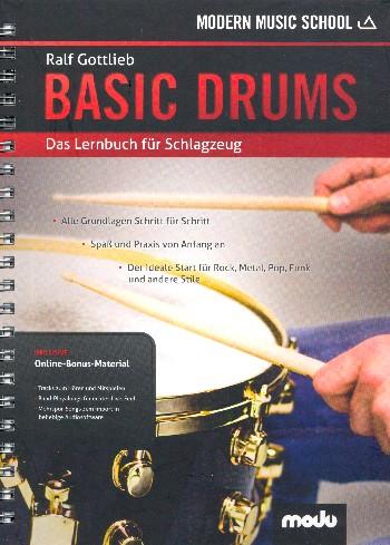 Basic Drums (+Online-Material): für Schlagzeug
