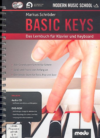 Schröder, Markus - Basic Keys (+CD +DVD-ROM) :