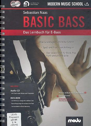 Basic Bass (+CD +DVD-ROM): für E-Bass