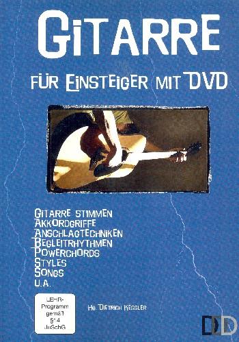 Gitarre für Einsteiger Band 1 (+DVD): für Gitarre