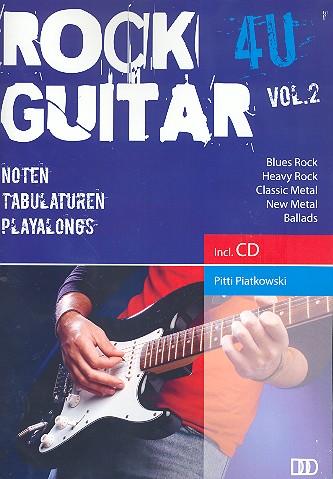 Rock Guitar 4U vol.2 (+CD): für Gitarre/Tabulatur