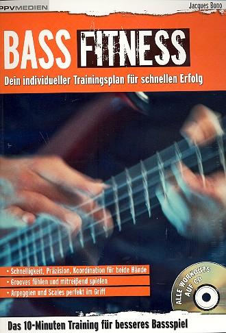 Bass Fitness Band 1 (+CD): für E-Bass