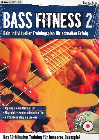 Bass Fitness Band 2 (+CD): für E-Bass
