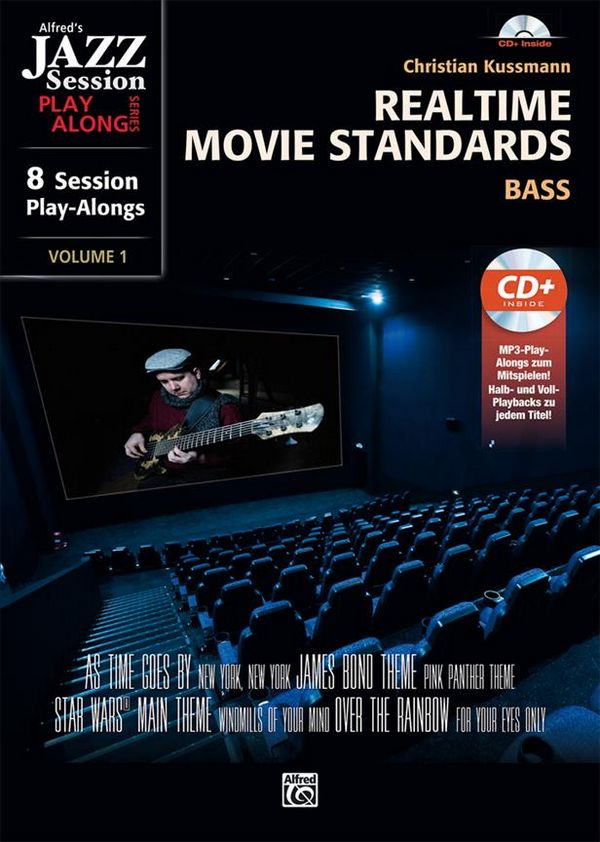 Realtime Movie Standards (+CD): for bass guitar