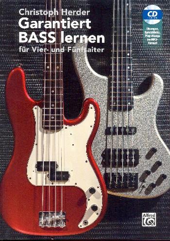 Garantiert Bass lernen (+MP3-CD): für E-Bass/Tabulatur (4- und 5 saitig)