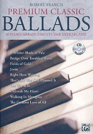- Premium Classic Ballads (+CD) :