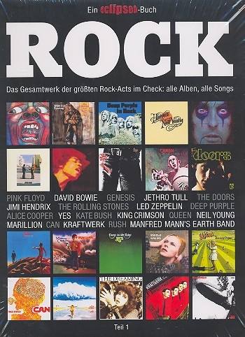 Rock Band 1: Das Gesamtwerk der größten Rock-Acts im Check: alle Alben, alle Songs
