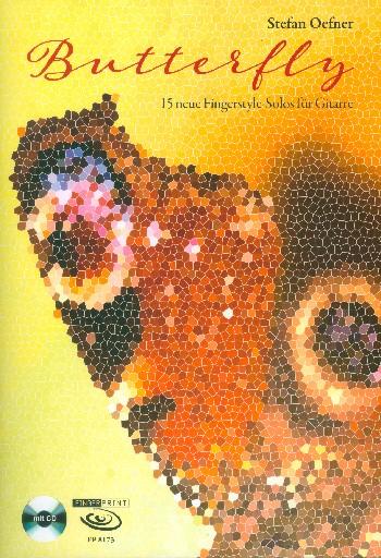 Butterfly (+CD): für Gitarre/Tabulatur