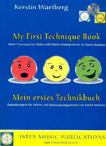 Mein erstes Technikbuch (+MP3-CD): für Violine