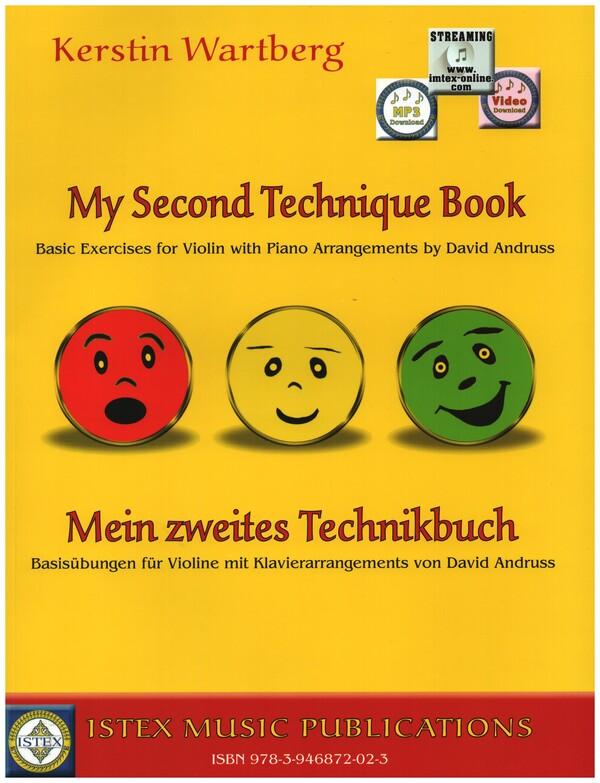 Mein zweites Technikbuch (+MP3-CD): für Violine