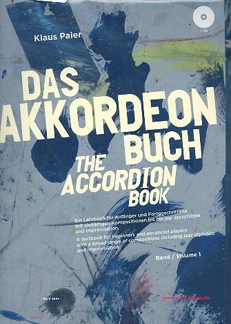 Paier, Klaus - Das Akkordeonbuch Band 1 (+CD)